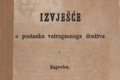 Deželić, Đuro Stjepan       Izvješće o postanku vatrogasnoga družtva u Zagrebu  U Zagrebu : Tiskom dra Ljudevita Gaja, 1870.