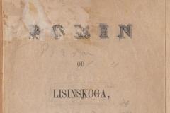 Demeter, Dimitrija      Porin / rěči od Dra. Demetra ; od Lisinskog  U Zagrebu : Narodna tiskara dra Ljudevita Gaja, [1873?]